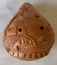 More details for spanish pottery 9 hole ocarina flute traditional musical instrument gomera new