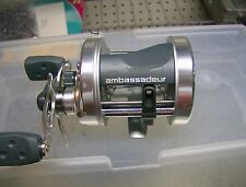 Abu Garcia Ambassadeur AMBS 6500S right hand bait cast reel.