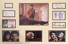 THE GRADUATE (DUSTIN HOFFMAN 1967 FILM) SIGNED AUTOGRAPHS