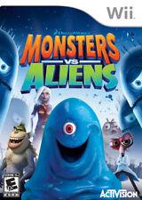 Monsters vs. Aliens WII New Nintendo Wii
