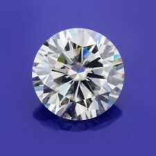 DEF WHITE COLOR ROUND CUT LOOSE MOISSANITE 7mm 1.20Ct VVS1 GEMSTONE USE FOR RING