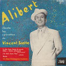 "7"" FRENCH EP 45 TOURS ALIBERT ""Le Plus Beau Tango Du Monde +3"" 1957"