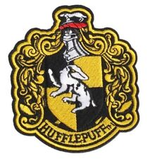 Harry Potter Wappen HUFFLEPUFF Logo Aufnäher Patch *SOFORTVERSAND*
