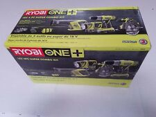 Ryobi ONE+ 18-Volt Lithium-Ion Cordless Super Combo Kit 4 Pc Drill Saw Charger