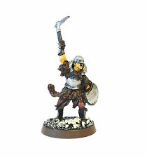 WARHAMMER ARMY LORD OF THE RINGS, LOTR ORC CHARACTER   PAINTED