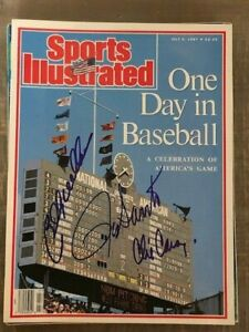 Billy Williams Ron Santo Chicago Cubs Wrigley Sports Illustrated Signed BAS LOA