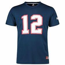 NFL New England Patriots Tom Brady 12 Trikot Jersey Shirt Polymesh Football