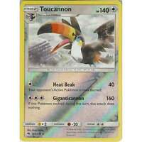 Pokemon TCG: Toucannon - 166/214 - Rare Reverse Holo Card - SM8 Lost Thunder