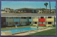 Tallahassee Driftwood Motel Postcard Florida
