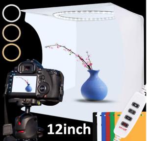 Mini pliant Lightbox photographie Photo Studio Softbox Panneau LED NEUF Lumière