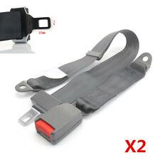 2 Pairs 2 Point Car Seat Safety Belt Universal Adjustable Auto Safety Seat Belt