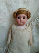 Antique German Bisque Head William Goebel Doll, Mignonette
