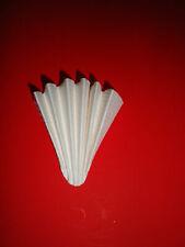 10 Stück FALTENFILTER  Ø 500 mm Filter Mittelschnell Filterpapier