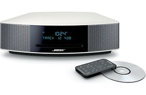 Bose Wave IV Music System CD MP3 AM/FM - Platinum Silver NEW