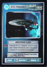STAR TREK CCG REFLECTIONS VERY RARE U.S.S. ENTERPRISE-C