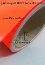 Zierstreifen 80 mm neonrot glänzend 796 Viperstreifen Warnstreifen neon rot 8 cm