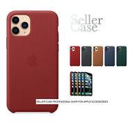 "Apple iPhone 11 Pro 5,8"" Original Leather Case Red Ledertasche - Rot"