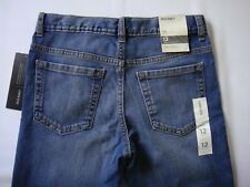 NEW OLD NAVY Straight Thigh Slim Leg Mid-Rise Women's Jeans Size 12 Regular J075