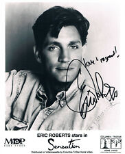 "Eric Roberts 1956- genuine autograph 8""x10"" photo signed In Person US actor"