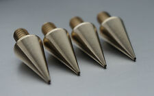 - British Made - Speaker Spikes- M6 - Solid-for HIFI racksAndSubWoofers brass