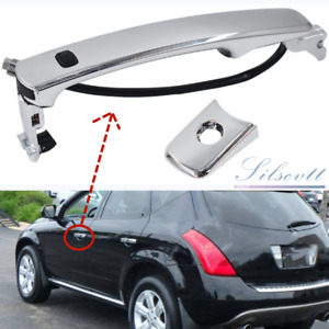 For Murano FX35 FX45 Front Left Driver Outside Chrome Door Handle Smart Entry US