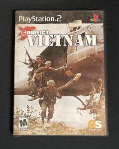 Playstation 2 - Conflict Vietnam (Sony, PS2, 2004) - No Manual