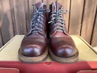 Red Wing Beckman Black Cherry Featherstone 9011 boot in US 7D, made in USA