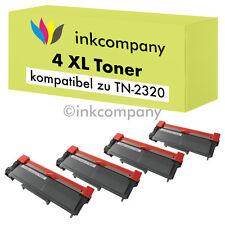 4 XXL TONER für BROTHER TN2320 HL-L2300D L2340DW L2360DN MFC-L2700DW L2720DW NEU