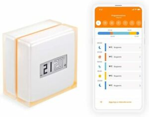 Netatmo Smart Thermostat Zur Steuerung von Heizungsanlagen B.