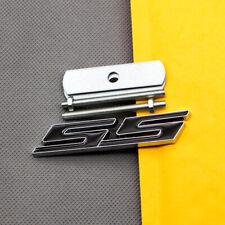Metal Black Coated Front Hood SS Badge Car Sport Grill Chrome Emblem for Camaro