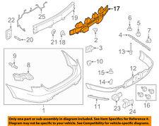 FORD OEM 13-15 Taurus Bumper Face-Foam Impact Absorber Bar DG1Z17787A