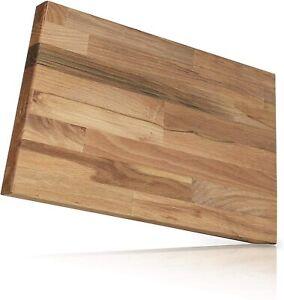 Behrwerk Schneidebrett Holz I 30 x 40 x 1,8 cm I Massives Buchenholz aus Europa