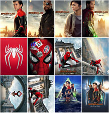 Spider-Man: Far From Home Movie 2019 Mirror Surface Postcard Promo card Poster
