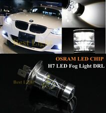 2pcs HID White H7  OSRAM  Chip LED  Projector Bulbs Fog Lights + Canbus Decoders