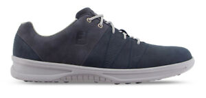 FootJoy Contour Casual Golf Shoes Spikeless Men's 54070 Navy New