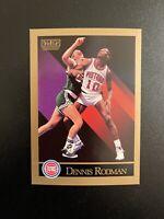 1990 - 1991 SkyBox Basketball Card Dennis Rodman #91 - Detroit Pistons PSA Ready