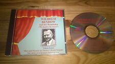 CD Comedy Wilhelm Bendow - Auf der Rennbahn (8 Song) ZYX MUSIC