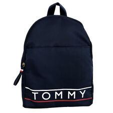 Nuevo Tommy Hilfiger Azul Marino Mochila Morral Escolar Gimnasio Bolsa De Viaje