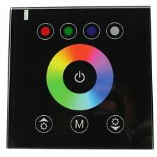 RGBW RGB+W Touch Panel Controller 192W 12V / 384W 24V - 16A - Glas Design Optik