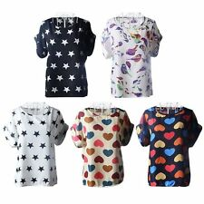 Blouse Short Sleeve Unbranded Tops & Shirts for Women