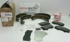 Toyota Tacoma 05-15 PreRunner Front Brake Pads and Rear Shoe Kit Genuine OE OEM