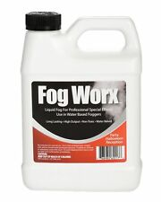 Fogworx Jugo De Niebla - 1 Cuarto De Galon De Fluido De Niebla Organico Sin O.