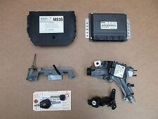 01 Boxster S Porsche 986 KEY IMMOBILISER SET 99661826201 ENGINE COMPUTER 129,829