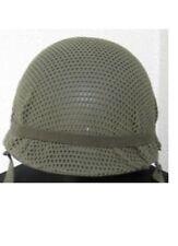 US M1 Elmetto in acciaio NET RETE 1969 VIETNAM Zeit SEALS Paratrooper Marines