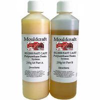 Mouldcraft SG2000 500g Fast Cast Polyurethane Liquid Plastic Casting Resin kit