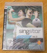 SINGSTAR VOL. 3 - PLAYSTATION 3 PS3 PLAY STATION 3 - PAL ESPAÑA - NUEVO VOLUMEN