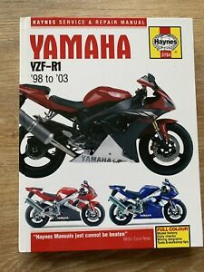 Yamaha YZF-R1 1998 - 2001:  Haynes Hardback Workshop Manual [Haynes 3754]