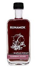 Runamok Maple - Elderberry Infused Maple Syrup - Vermont Organic