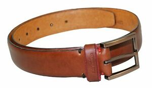 Kenneth Cole New York Men's Genuine Leather Belt Small NWT Tan