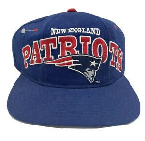 Vintage 1990's New England Patriots Starter NFL Pro Line Wool Snapback Hat NWT